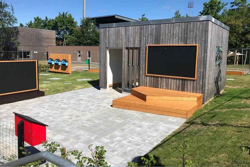 Time2learn designer have til skole i Haderslev