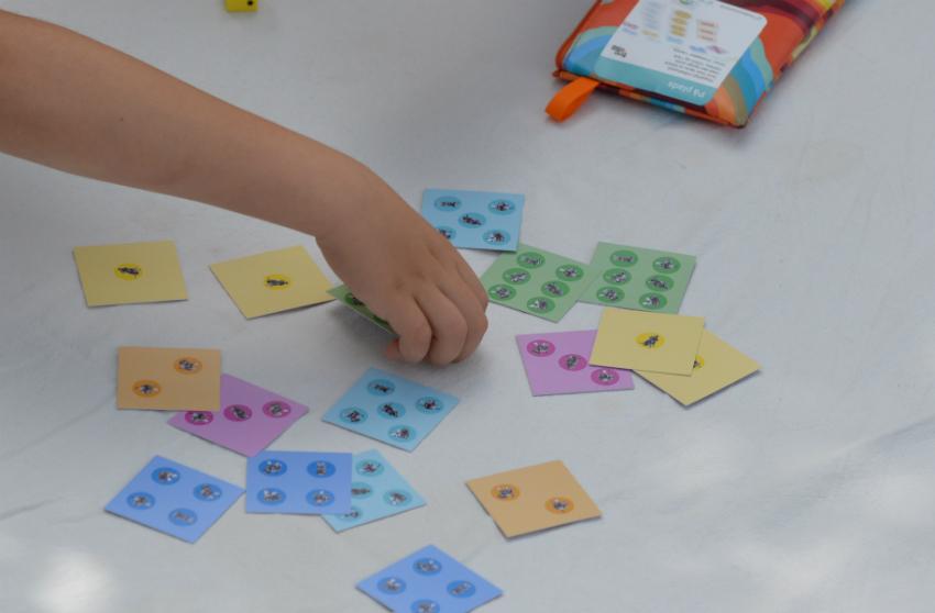 Igang med læringsspillet spillet På Plads