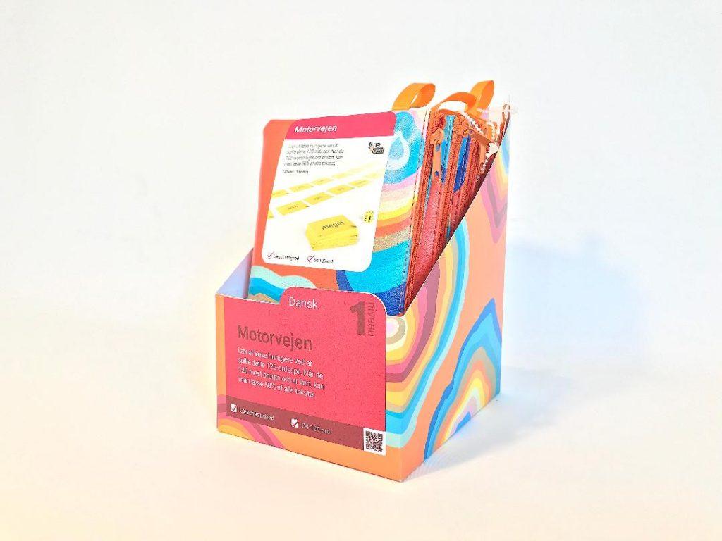 Kasse med LæringsSnacks Motorvejen
